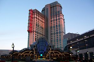 English: Niagara Fallsview Casino Resort - Fac...