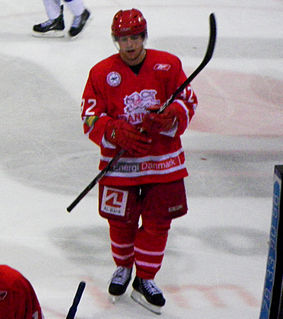 Nichlas Hardt Danish ice hockey player