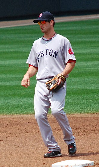 Nick Green (baseball) - Green with the Boston Red Sox in 2009