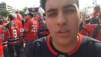 File:Nico Hischier bei der Spielerpräsentation der New Jersey Devils.webm
