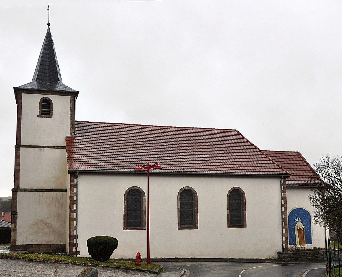 Glise sainte th r se d 39 avila de niderhoff wikip dia - Eglise sainte therese guilherand granges ...