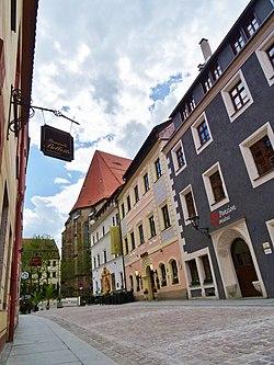 Niedere Burgstraße Pirna in color 119401881.jpg
