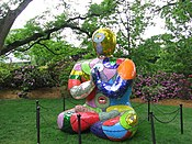 sculpture moderne pour jardin