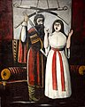 "Niko Pirosmani. Scene from V. Guniya's play ""Brother and Sister"" (32326332111).jpg"