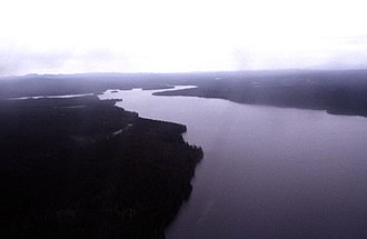 Nimpo Lake - Nimpo Lake (picture taken from a floatplane)