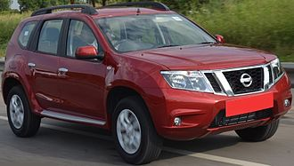 Dacia Duster - Nissan Terrano (India)