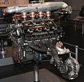 Nissan VRH35Z engine rear Nissan Engine Museum.jpg