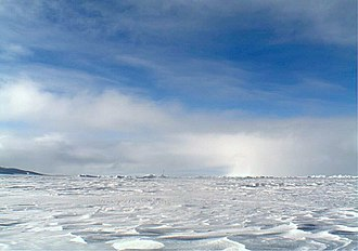 North Pole - Sea ice at the North Pole in 2006