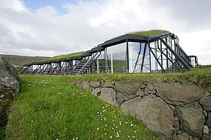 Nordic House in the Faroe Islands - The Nordic House from the outside