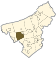Northampton county - East Allen Township.png