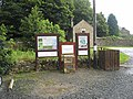 Noticeboard in Blanchland Car Park - geograph.org.uk - 907351.jpg
