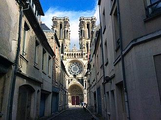 Hauts-de-France - Notre Dame de Laon, France