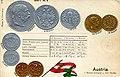 Numismatic postcard from the early 1900's - Austria-Hungary (Cisleithania) 02.jpg