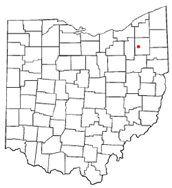Location in the state of Ohio.