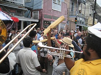 17th Ward of New Orleans - Celebrating Po-Boy Fest on Oak Street