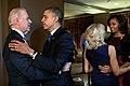Obamas and Bidens on presidential election night 2012.jpg