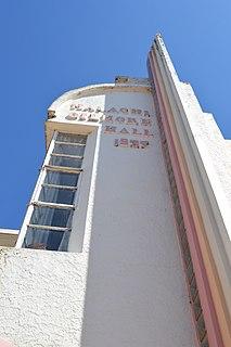Malachi Gilmore Memorial Hall historic building in Oberon, New South Wales, Australia