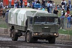 MZKT-5002 at a Russian fair (2014)