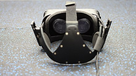An inside view of the Oculus Rift Crescent Bay prototype headset Oculus Rift Crescent Bay Prototype (16383004719).jpg