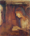 OdilonRedon-1914-Reading.png