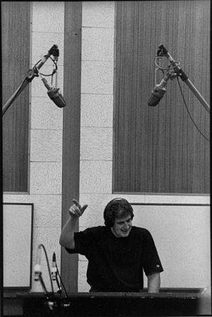 Dale Oehler - Oehler at a recording session in the mid-1990s