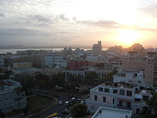 Old-San-Juan-Sun-Is-Setting-Shot-From-Top-Of-Fort-San-Cristóbal.JPG
