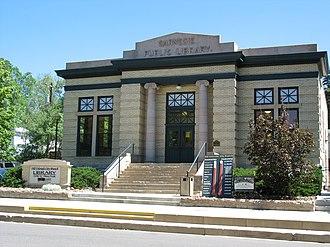 Old Colorado City - Image: Old Colorado City Branch Carnegie Library