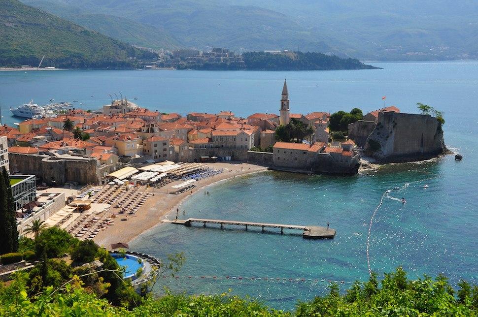 Old Town of Budva - Montenegro - Southeastern Europe - 7 June 2014