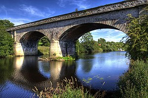 Leeds and York Railway - Tadcaster Viaduct (2007)
