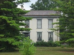 Oliver P. Morton - Morton's house in Centerville
