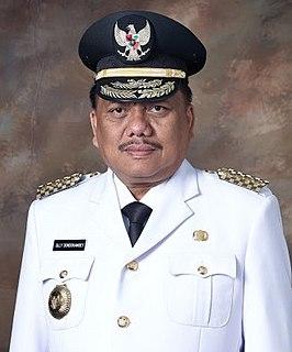 Olly Dondokambey Indonesian politician