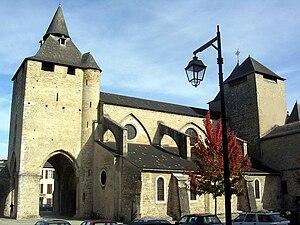 Oloron-Sainte-Marie - Image: Oloron cathédrale ste marie 2