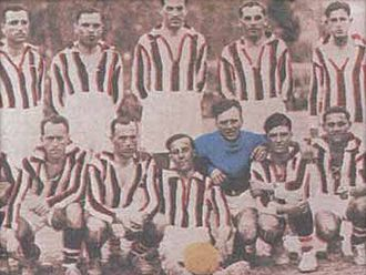 Olympiacos F.C. - Olympiacos line-up in 1928