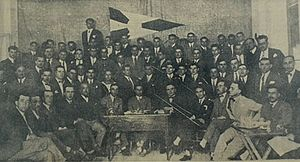 Olympiacos F.C. - The founders of Olympiacos (1925)
