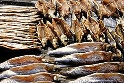 Omul Fish at the Listvyanka market.