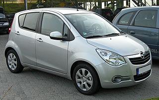 Opel Agila Motor vehicle
