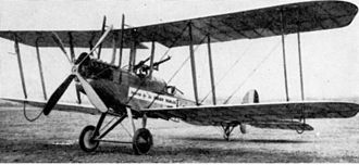 No. 17 Squadron RAF - A Royal Aircraft Factory B.E.2c, much like what No. 17 Squadron operated from 1915 to 1918.
