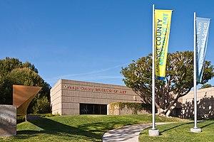 Orange County Museum of Art - Image: Orange County Museum of Art exterior