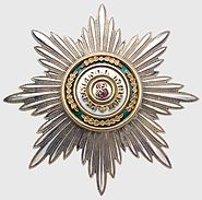 Order of St. Stanislas (Russia) Grand Cross Star