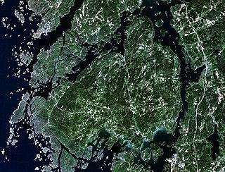 Orust island of Sweden