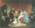 Os duques de Palmela com a sua família no antigo palácio do Calhariz.png
