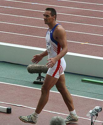 Roman Šebrle - Roman Šebrle in Osaka, 2007