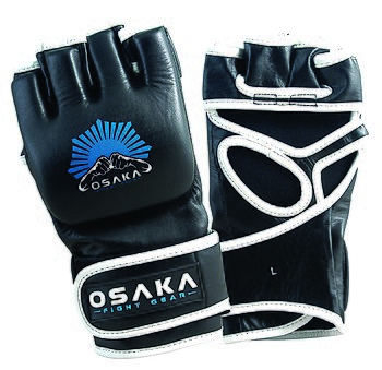 English: A modern pair of MMA Gloves Open Fingered