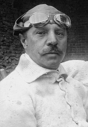 Otto Salzer - Otto Salzer at the 1914 French Grand Prix