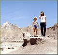 Our Girls in The Badlands, SD 1981 (8230775270).jpg