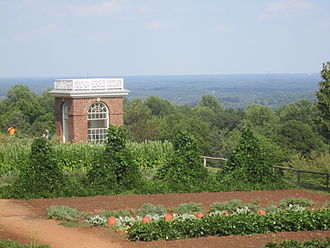 Monticello - Some of the gardens on the property