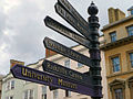 Oxford, signs in Cornmarket street - geograph.org.uk - 801197.jpg