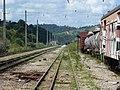 Pátio da Estação Engenheiro Acrísio em Mairinque - Variante Boa Vista-Guaianã km 166-167 - panoramio.jpg
