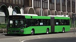 Volvo 7700A busz a 103-as vonalon