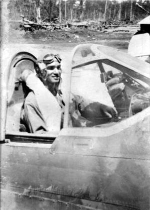 No. 78 Squadron RAAF - Image: P01659.001Waters Kittyhawk